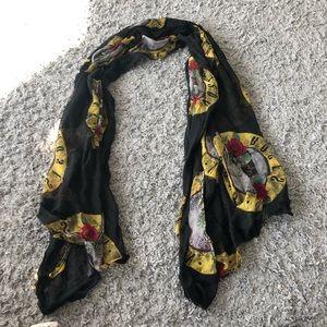 Guns N' Roses scarf